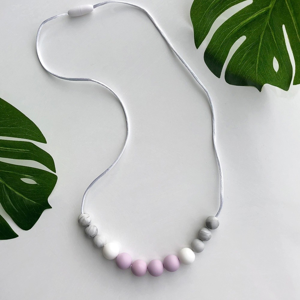 Love & Carry - ogrlica za grickanje - Amethyst