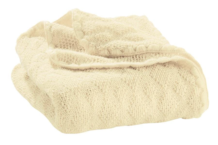 Disana vuneni prekrivač za bebe, natur