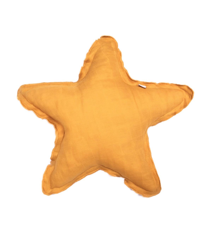 Baobaby jastučić od muslina, Zvijezda - Sunny gold