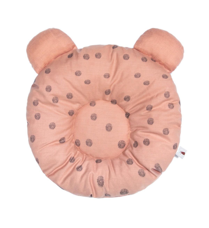 Baobaby okrugli jastučić s ušima, organski pamuk, Powder spots