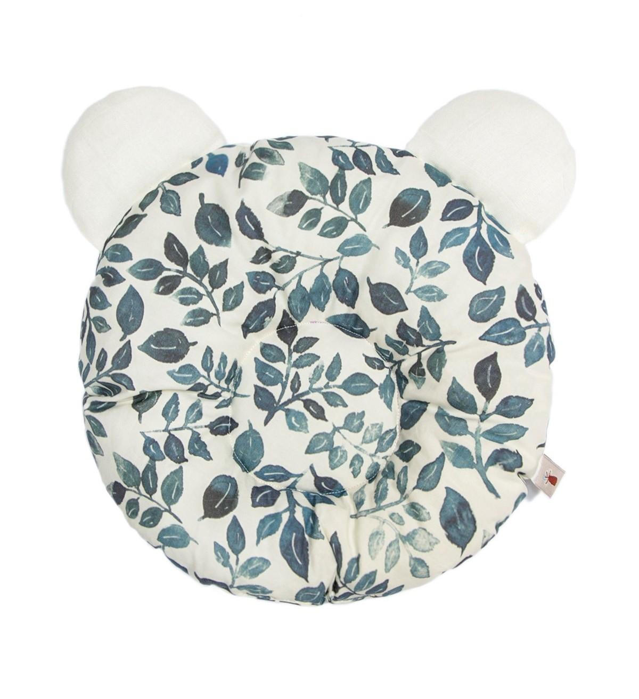 Baobaby okrugli jastučić s ušima, organski pamuk, Blue Ivy