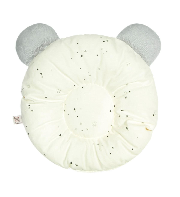 Baobaby okrugli jastučić s ušima, organski pamuk, Milky Stardust