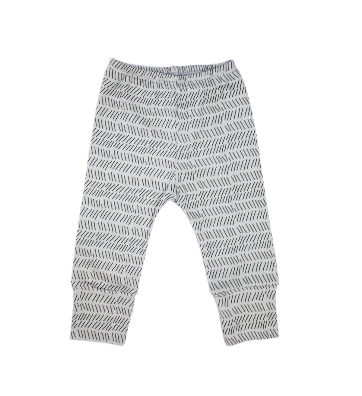 Baobaby hlačice, hlačice s renderom - Grey Lines