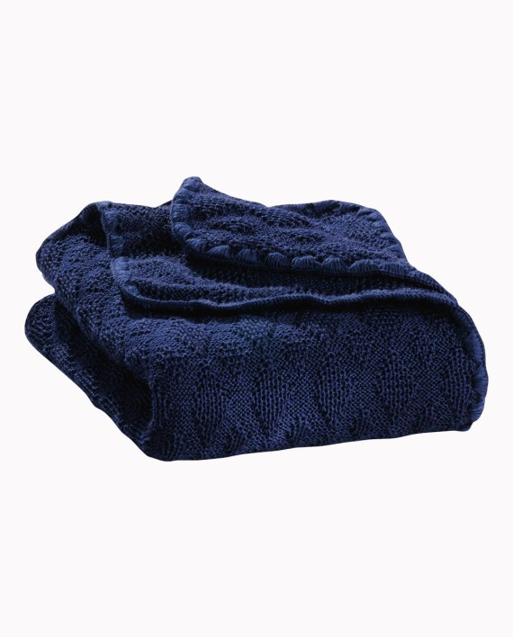 Disana vuneni prekrivač za bebe, plavi