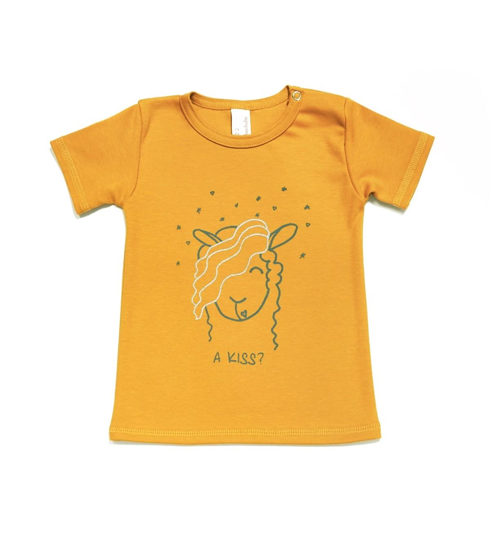 Baobaby - Majica KR - A Kiss Sunny Gold