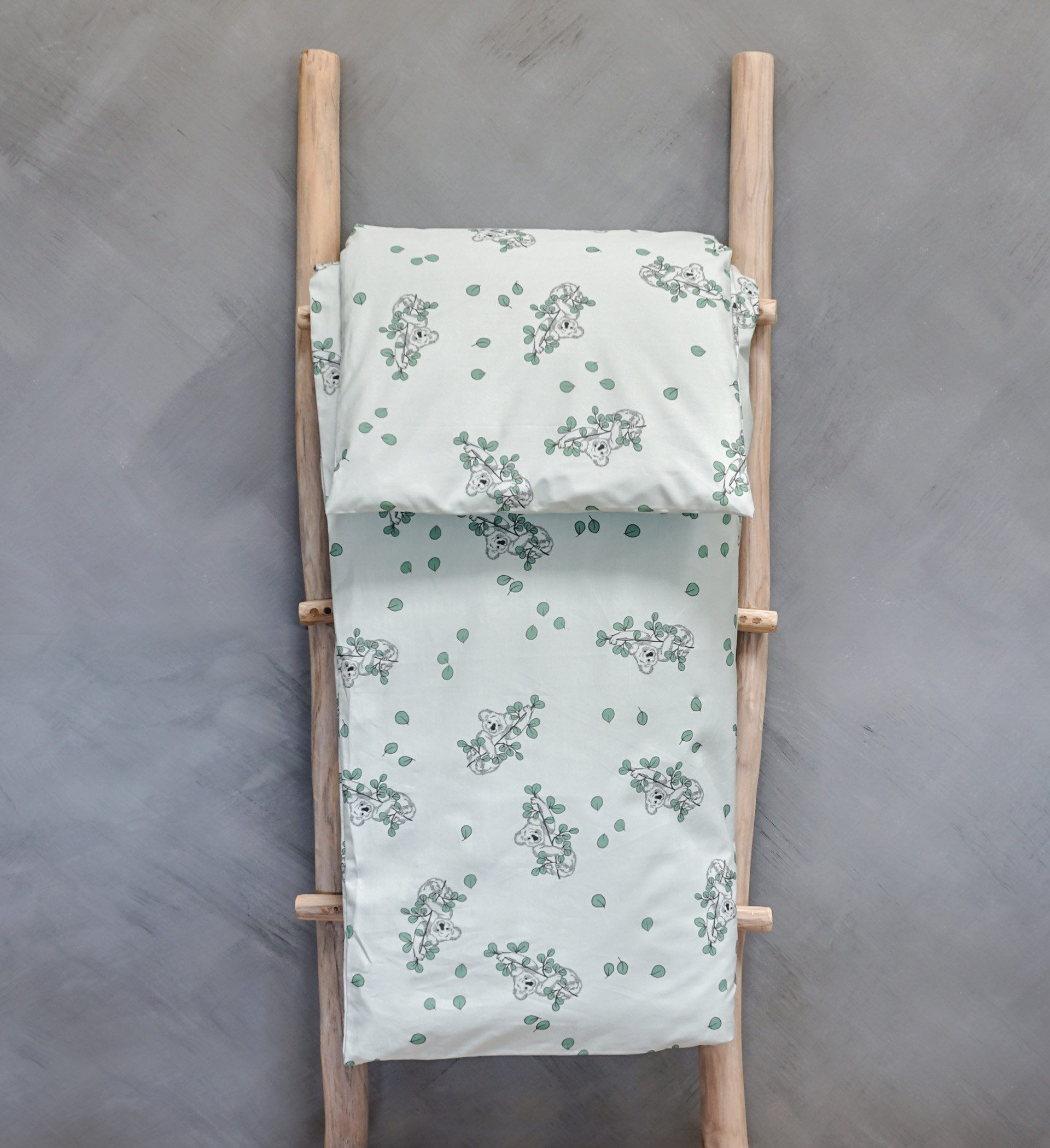 presvlaka za poplun i jastučnica - Eucalyptus Koala