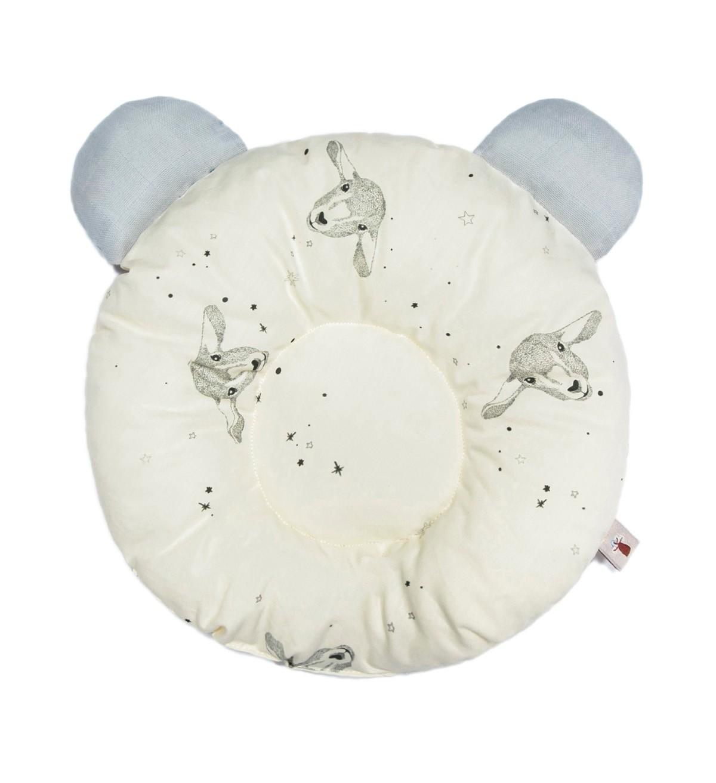 Baobaby okrugli jastučić s ušima, organski pamuk, Baa Baa Twinkle