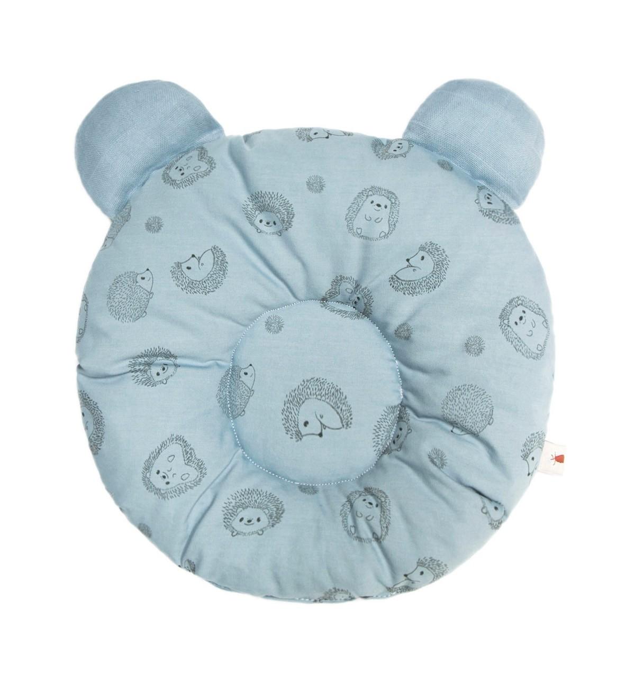 Baobaby okrugli jastučić s ušima, organski pamuk, Blue Spikey
