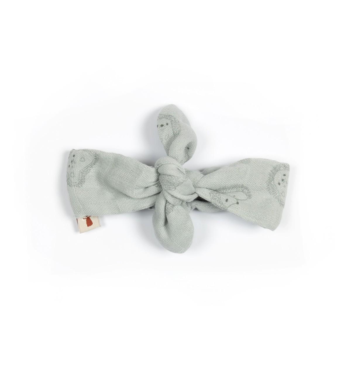 Baobaby traka za kosu - muslin, Grey Spikey