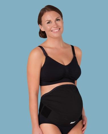 Carriwell - Podesivi potporni pojas za trudnice - CRNI