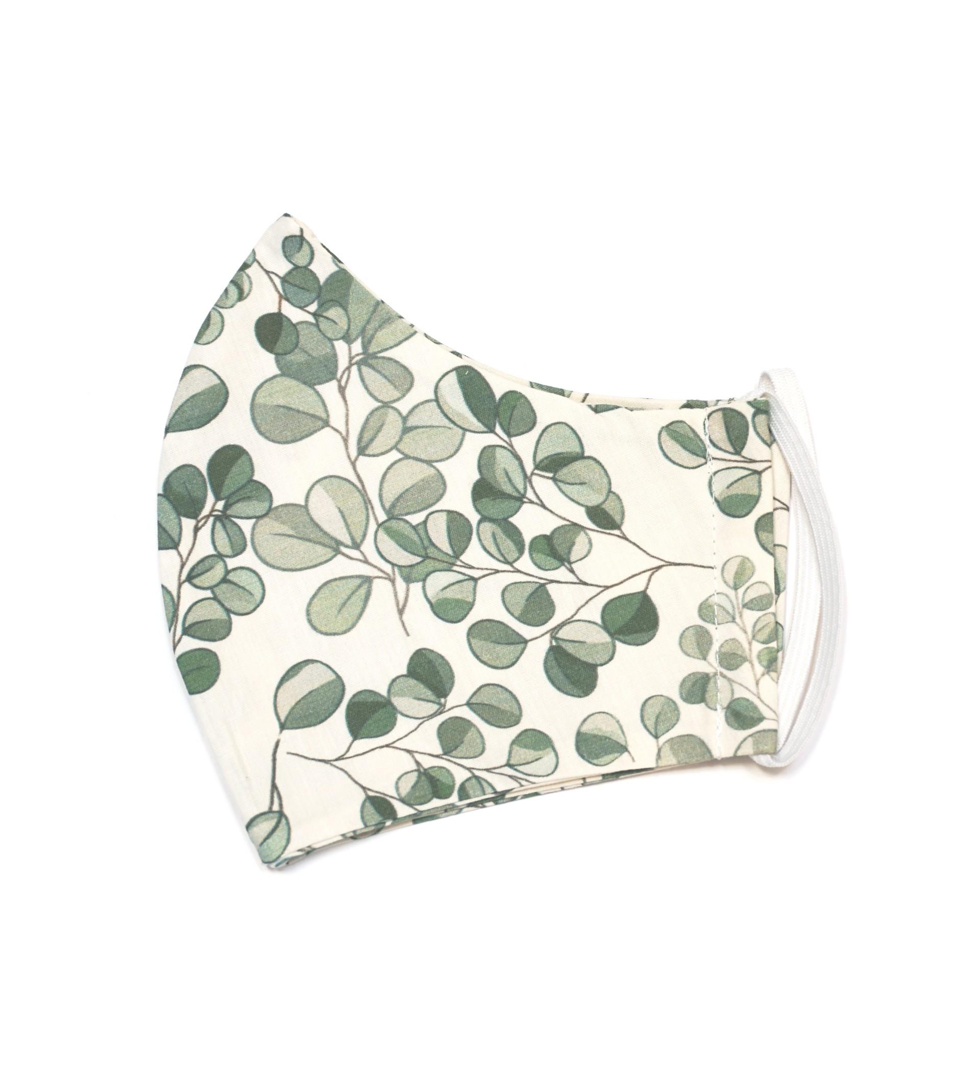 Baobaby pamučna dvoslojna maska, Evergreen