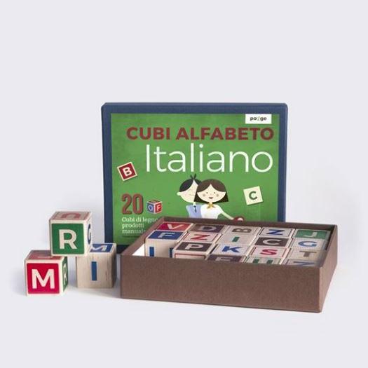 Ponge kocke - talijanska slovarica