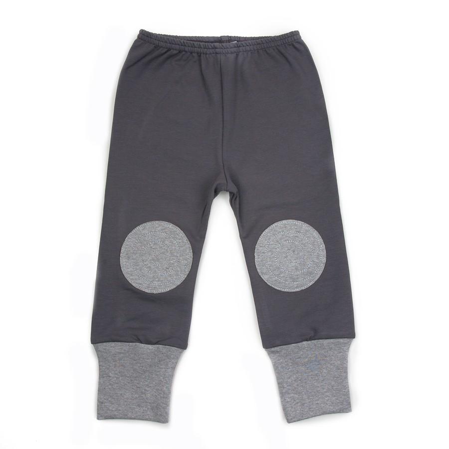 Baobaby hlačice s aplikacijom - Sive/sive