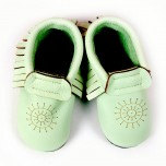 Baobaby Pelice - Moccasins mint
