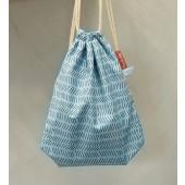 Baobaby torba za vrtić sa vezicama, Blue Lines