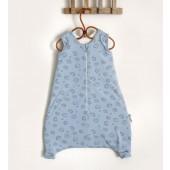 Baobaby topla velika vreća za spavanje - Blue Spikey