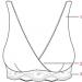 Carriwell - Grudnjak za dojenje s čipkom - ilustracija