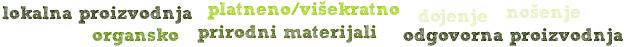 Zeleno je bitno Roda organsko